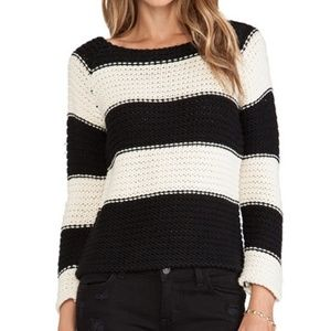 Sanctuary striped knit sweater- small